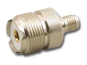 Reduction of SMA socket to UHF socket. Adapter at Wasserman.eu