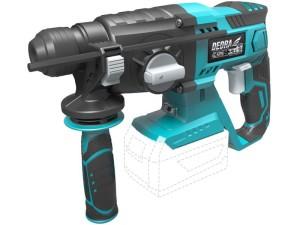 Cordless rotary hammer Dedra SAS + ALL 4-functional at Wasserman.eu