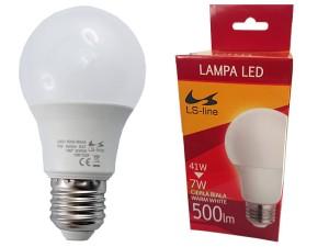 LED bulb E27 7W warm white at Wasserman.eu