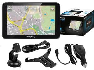5 inch Peiying GPS navigation at Wasserman.eu