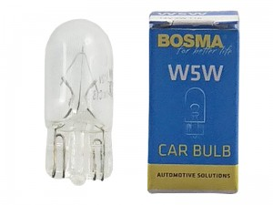 Car bulb 12V W5W T10 at Wasserman.eu