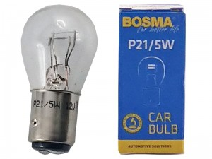 Car bulb 12V P21 / 5W BAY15D at Wasserman.eu