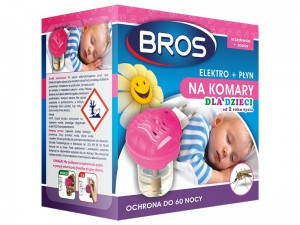 BROS elektro + mosquito repellent For children at Wasserman.eu
