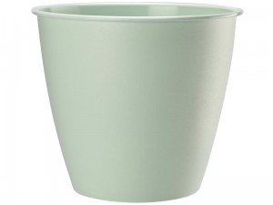 Azalia flowerpot casing height 19cm diameter 17,6cm mint at Wasserman.eu