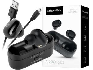Bezprzewodowe słuchawki douszne Kruger&Matz Bluetooth 5.0 w sklepie Wasserman.eu