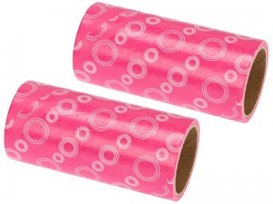 Two replaceable pink clothes cleaning rollers at Wasserman.eu