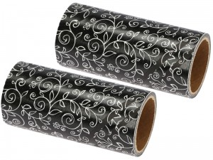 Two replaceable black clothes cleaning rollers at Wasserman.eu