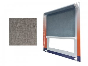 Mini blind 56.5x150cm Melange 739 line guides at Wasserman.eu