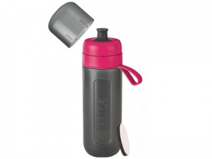 Bottle BRITA fill & go Active pink + FILTER at Wasserman.eu