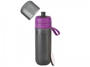 BRITA fill & go Active violet bottle + FILTER at Wasserman.eu