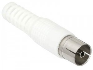 Antenna straight connector for cable at Wasserman.eu