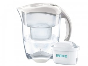 Brita Elemaris XL white pitcher + Maxtra + FILTER at Wasserman.eu