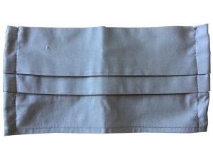 Maseczka wielorazowa bawełniana 2 warstwy Szara w sklepie Wasserman.eu