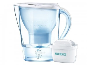 Brita Marella XL white pitcher + Maxtra + FILTER at Wasserman.eu