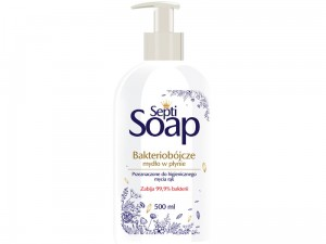 Bactericidal liquid soap Septi Soap 500ml at Wasserman.eu