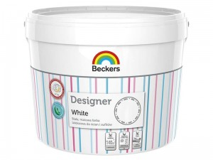 Matt latex white paint Beckers 10l at Wasserman.eu