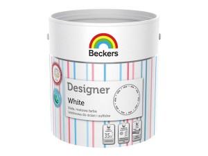 Matte white latex Beckers paint 2,5l at Wasserman.eu