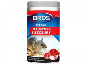 Mouse and rat poison. Grain Bros 300g at Wasserman.eu
