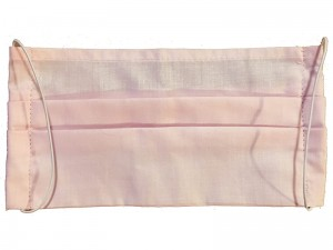 Reusable cotton mask 2 layers Pink at Wasserman.eu
