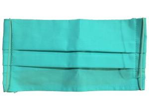Maseczka wielorazowa bawełniana 2 warstwy Błękitna w sklepie Wasserman.eu