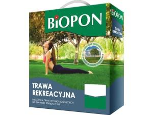 Recreational grass Biopon seeds 1kg 40m2 at Wasserman.eu