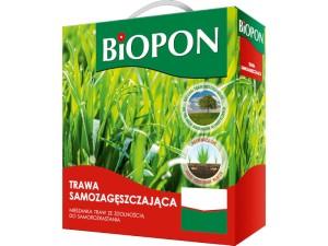 Trawa samozagęszcająca nasiona Biopon 1kg 40m2 w sklepie Wasserman.eu