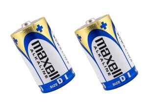 2x Maxell LR20 alkaline battery at Wasserman.eu