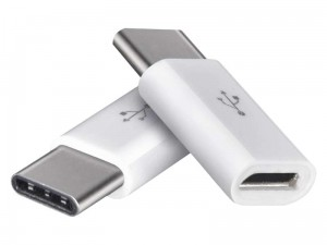 Micro USB to USB type C adapter two pieces at Wasserman.eu
