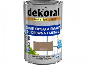 Enamel Dekoral Emakol Strong Coffee Light 0.9L at Wasserman.eu
