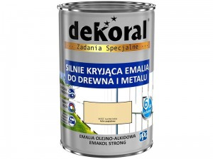Enamel Dekoral Emakol Strong Ivory 0.9L at Wasserman.eu