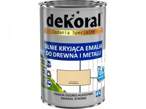 Enamel Dekoral Emakol Strong Cream 0.9L at Wasserman.eu