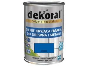Enamel Dekoral Emakol Strong Azure 0.9L at Wasserman.eu