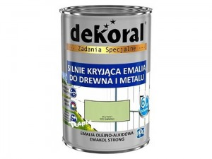 Enamel Dekoral Emakol Strong Mint 0.9L at Wasserman.eu