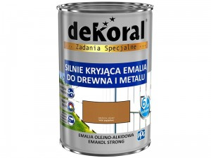Enamel Dekoral Emakol Strong Light Walnut 0.9L at Wasserman.eu