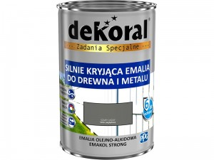 Enamel Dekoral Emakol Strong Light Gray 0.9L at Wasserman.eu