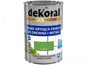 Enamel Dekoral Emakol Strong Green-Yellow 0.9L at Wasserman.eu