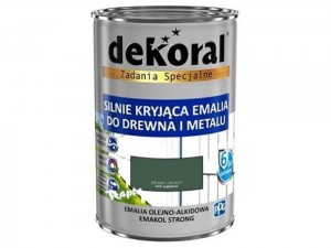 Enamel Dekoral Emakol Strong Green Leaf 0.9L at Wasserman.eu
