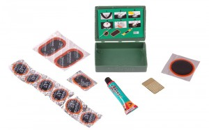 Adhesive patches kit for repairing inner tube at Wasserman.eu