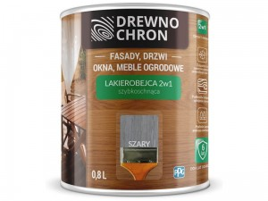 Stain varnish 2in1 Wood Chron 0,8L Gray at Wasserman.eu