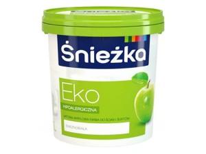 Acrylic emulsion for walls and ceilings Śnieżka Eko 1L at Wasserman.eu