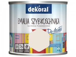 Paint Dekoral Akrylux Fast drying enamel 0.5l A clean sheet at Wasserman.eu