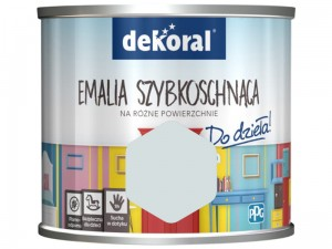 Paint Dekoral Akrylux Fast drying enamel 0.5l Cool climate mat at Wasserman.eu