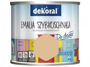 Dekoral Akrylux paint Quick-drying enamel 0.5l Mustard after dinner at Wasserman.eu