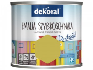 Dekoral Akrylux paint. Quick-drying enamel 0.5l at Wasserman.eu