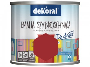 Dekoral Akrylux paint. Quick-drying enamel 0.5l. A sheet for a bull at Wasserman.eu