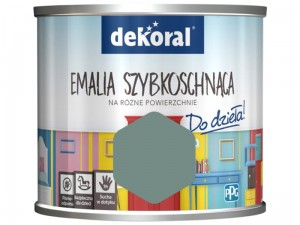 Dekoral Akrylux paint. Quick-drying enamel 0.5l. Gray cell at Wasserman.eu