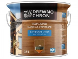 Impregnation coating Drewnochron Extra 2.5L Oak at Wasserman.eu