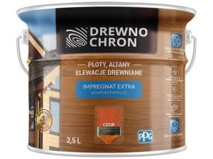 Impregnation coating Drewnochron Extra 2.5L Cedar at Wasserman.eu