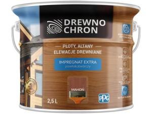 Impregnating coating coating Drewnochron Extra 2.5L Mahogany at Wasserman.eu