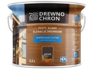 Drewnochron Extra 2.5L Wenge coating-forming impregnate at Wasserman.eu